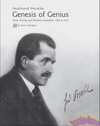 PORSCHE GENESIS OF GENIUS BOOK LUDVIGSEN FERDINAND 911 928 912 930 968 CARRERA