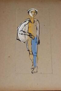 Walt-Peregoy-Illustration-Original-Art-Walt-Disney-Studio-Animator-Avant-Garde