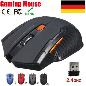 2.4 GHz PC Maus Kabellos USB Wireless Mouse Gaming Computer Notebook Laptop Funk