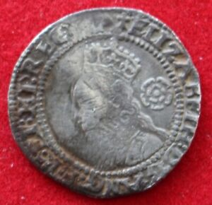 Elizabeth I Threepence