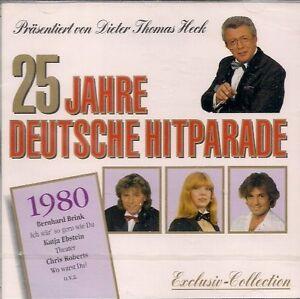 25-Jahre-deutsche-Hitparade-Dieter-Thomas-Heck-1980-Katja-Ebstein-Chri-CD