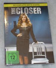 The Closer - Complete Season Series 3 Three - DVD Box Set - NEW SEALED Region 2