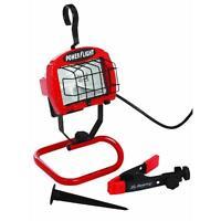250 Watt Halogen Portable Work Shop Stand Light 4-in-1 Automotive Home L-878-4n1