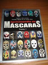 ENCICLOPEDIA DE MASCARAS magazine revista Tomo I  A-D wrestling Atlantis, blue