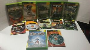 Lot-of-6-Xbox-Splintercell-Pandora-Chaos-Theory-Ghost-Recon-Unreal-Championship
