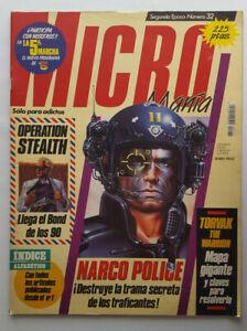 MICROMANIA-2-EPOCA-N-32-AMSTRAD-SPECTRUM-NARCO-POLICE-TORVAK-THE-WARRIOR