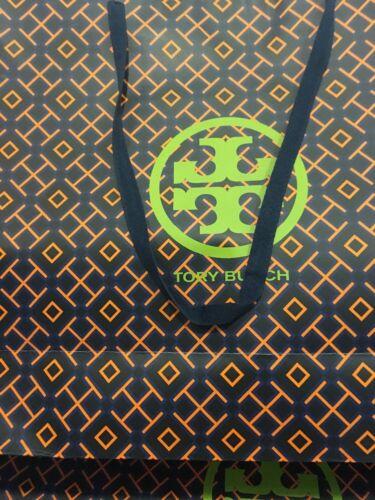 "New TORY BURCH GIANT XXL 27/""x19/""x7/"" Shopping//Gift Bags Orange Black One Bag"