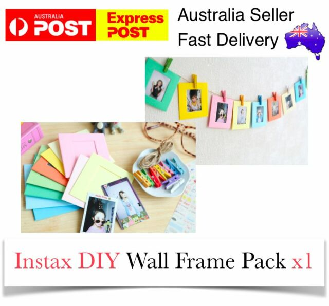 Wall Instax Frames DIY Pack Gift Polaroid Film Album Fuji Film Mini 8/7/7S/90