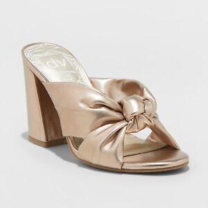 Women's dv Knotted Mule Heels - Gold | eBay