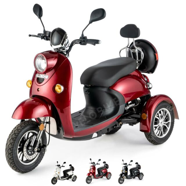 Lunex 3 Wheeled Retro Electric Mobility Scooter Black For Sale Online Ebay