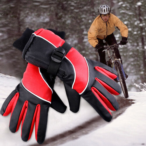 Winter Electric Thermal Hand Warmer Gloves Rechargeable Battery Motorcycle Glove