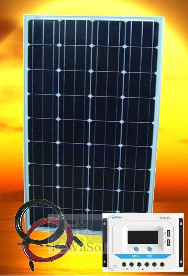 PV Inselanlage A-12V 100WP PV Bausatz  Solaranlage Wohnwagen