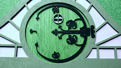 Gothic Circular Hinge For Fairy-Pixie-Snipe House-Home Door Kit 3 sizes MDF 3Pc