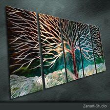 Modern Original Metal Wall Art Abstract Large Indoor Outdoor Decor-Zenart