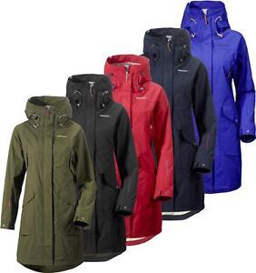 koko 7 upouusi myyntipiste myytävänä Details about Didriksons Thelma Womens Coat Waterproof Windproof Longer  Length