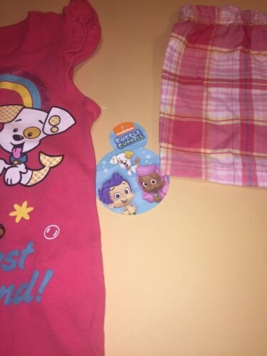 Bubble Guppies Toddler Girl Shirt /& Shorts Outfit Set New 4T Molly Bubble Puppy