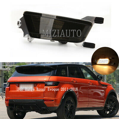 NEW LH DRIVER SIDE REAR VIEW MIRROR GLASS FOR 12-14 RANGE ROVER EVOQUE 2.0L