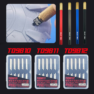Hot Flat Bottom Round Hole Making Model Building Tools with Handle Galaxy Tools