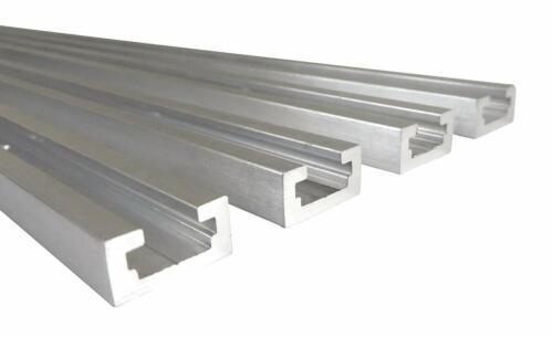 "48/"" Aluminum T Track 3//4/"" by 3//8/"" Slot Taytools Lot 4 Each"