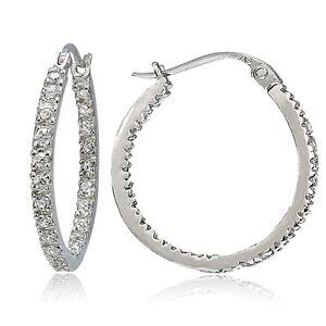 925-Sterling-Silver-Cubic-Zirconia-Inside-Out-20mm-Round-Hoop-Earrings