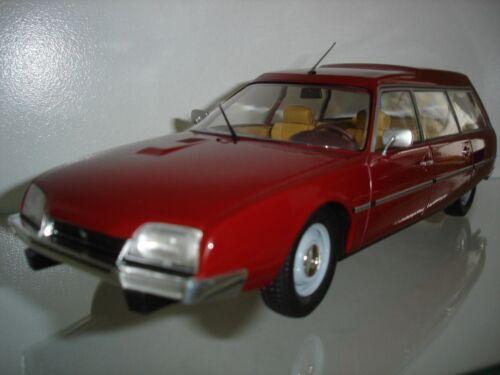 rot Citroen CX 2500D Super Break Serie I 1976 1:18 MCG NEU