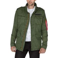 Alpha Industries Men/'s Jacket Huntington M65 Britannia Field Jacket Transitional