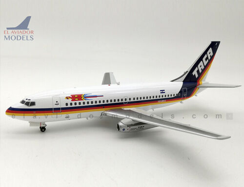 Inflight 200 IF732TA0719 1//200 Taca Airlines Boeing 737-200 YS-08-C with stand
