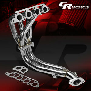 For 98 02 Ford Escort Zx2 S R 2 0 Stainless Steel Exhaust 4 1