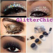 Glitter Eyes 4 Colours Set, loose glitter, Fix Gel and Applicators gift bag