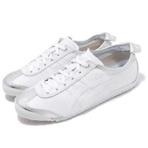 sports shoes 16228 2e9cf Details about Asics Onitsuka Tiger Mexico 66 Silver White Men Women Running  Shoes 1183A033-020