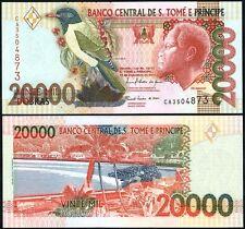 SAINT THOMAS & PRINCE  20.000 20000 Dobras 2010 UNC P 67 d