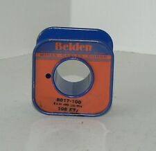 Belden 8817 Litz Wire 5x44awg Cloth Covered Wire For Radio Loop Coils Nos 100