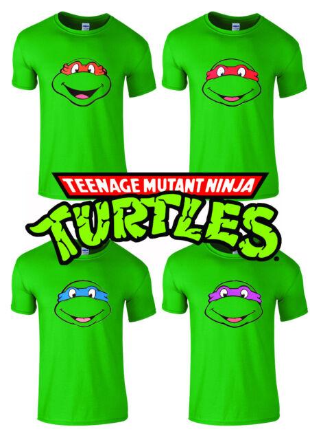 Teenage Mutant Ninja Turtles tshirt T-Shirt Birthday Present Mens Unisex Kids