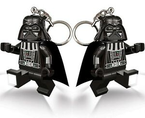Three-3-x-Lego-Star-Wars-minifig-Darth-Vader-Light-keyring-keychain-LED