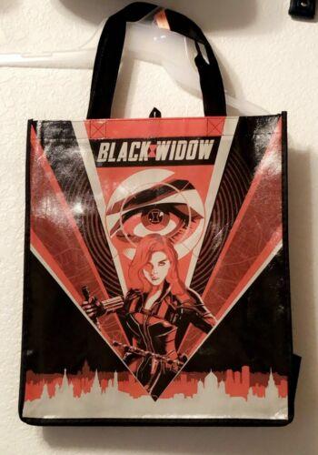 DISNEY MARVEL BLACK WIDOW REUSABLE TOTE BAG NEW!