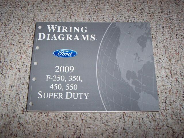 2009 Ford F450 Super Duty Electrical Wiring Diagram Manual 6 4l Diesel Xl Xlt V8
