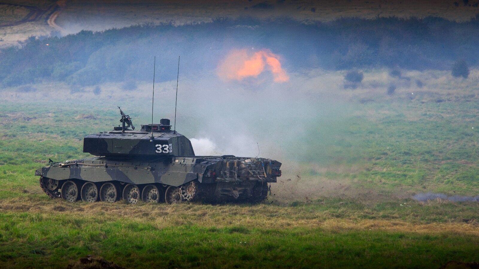BRITISH ARMY CHALLENGER 2 MAIN BATTLE TANK    MILITARY Photo Print