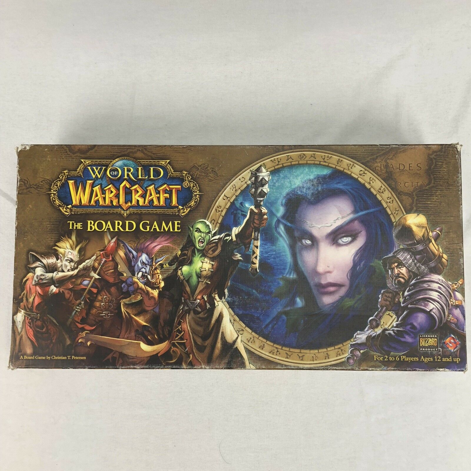 World Of Warcraft  The Board Game Blizzard Fantasy Flight