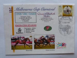 1998-MELBOURNE-CUP-CARNIVAL-HORSE-RACING-SOUVENIR-COVER