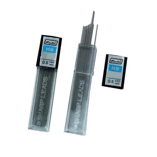 120 Herlitz Druckbleistiftminen HB Mine 0,5mm