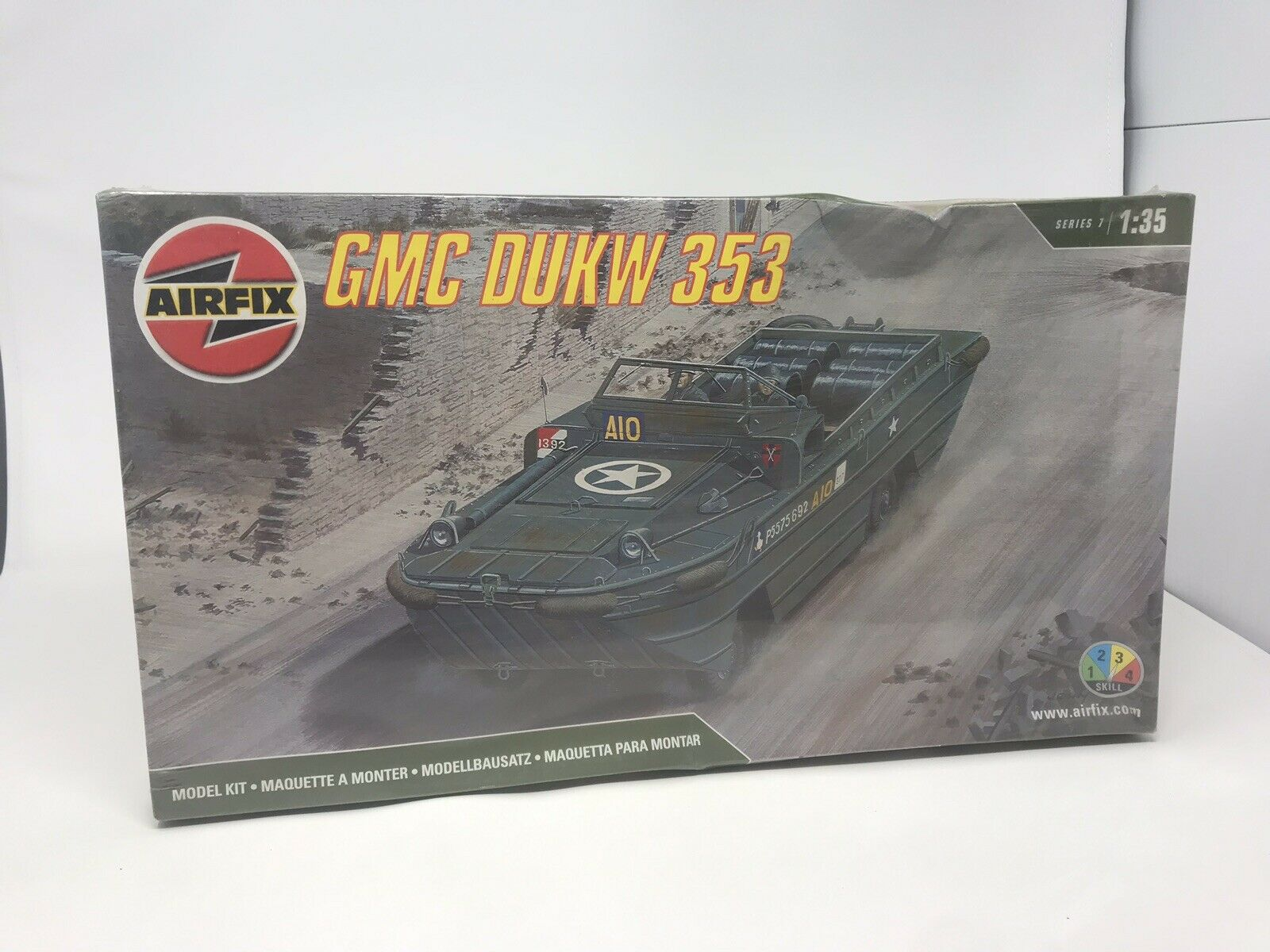 Airfix GMC DUKW 353 Amphibian Military Model Kit 07362