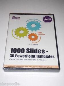 1000 slides 3d powerpoint templates create modern presentations pc image is loading 1000 slides 3d powerpoint templates create modern presentations toneelgroepblik Gallery