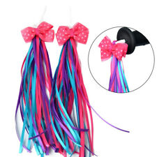 2 Pcs Handlebar Streamers Tassels For Kids Bicycle Bike Cycling Tricycle Gift KW