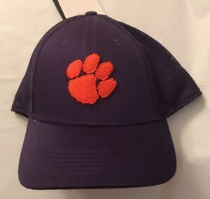 new styles 9a759 5058b Image is loading Clemson-Tigers-Nike-Dri-FIT-Purple-Mesh-Back-
