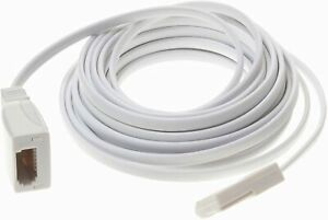 20m-Telephone-Extension-Cable-Lead-Phone-Fax-Modem-UK-BT-FLAT