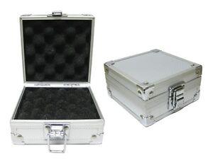 Aluminum single tattoo machine case egg shell foam for Tattoo machine case