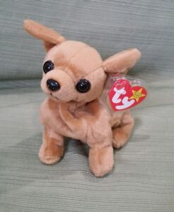 6a6654a76e6 Image is loading Ty-Beanie-Baby-TINY-the-Chihuahua-Dog-GASPORT-