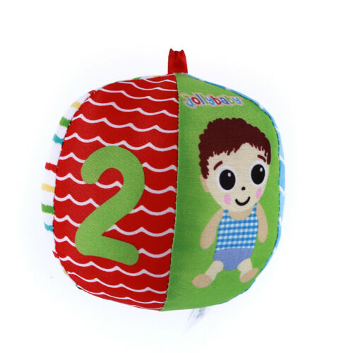 Baby Vision Training Early Educational Colorful Fight Soft Cloth Ball Toy L