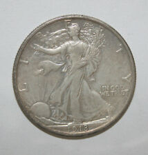 1918  WALKING LIBERTY HALF DOLLAR     VB3
