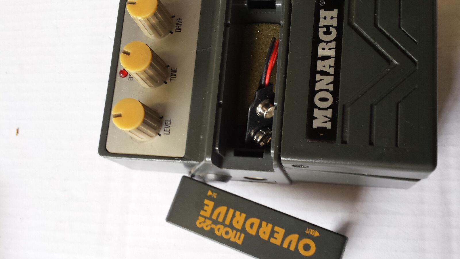 Rarität Rarität Rarität  Orig. MONARCH MOD-22 OVERDRIVE von MONACOR Effektgerät a4591b